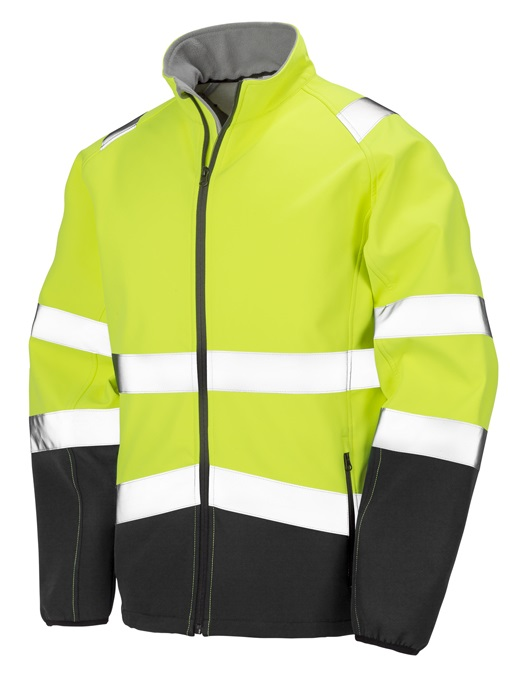 Drukai piemērota SAFETY SOFTSHELL jaka